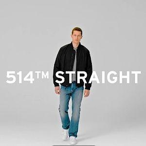 Men's 514 slim straight men's jeans 32x32